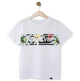 クイックシルバー QUIKSILVER  キッズ Tシャツ DF FRONTLINE ISLAND ST KIDS (100-160) T-shirts 【KST191111 WHT2】