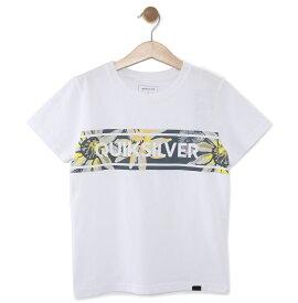 クイックシルバー QUIKSILVER  キッズ Tシャツ DF FRONTLINE ISLAND ST KIDS (100-160) T-shirts 【KST191111 WHT3】