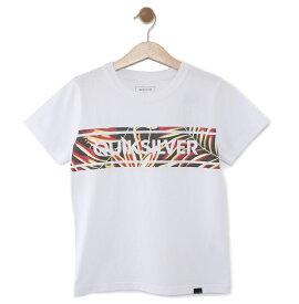 クイックシルバー QUIKSILVER  キッズ Tシャツ DF FRONTLINE ISLAND ST KIDS (100-160) T-shirts 【KST191111 WHT】