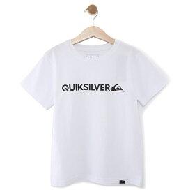 クイックシルバー QUIKSILVER  キッズ Tシャツ DF M&W ISLAND ST KIDS (100-160) T-shirts 【KST191112 WHT】