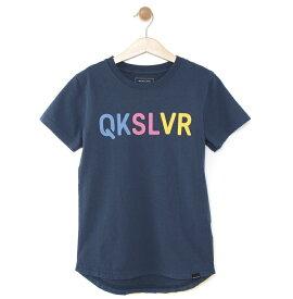 クイックシルバー QUIKSILVER  キッズ バックプリント Tシャツ DF MW TAIL ST KIDS (100-160) T-shirts 【KST191114 NVY】