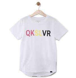 クイックシルバー QUIKSILVER  キッズ バックプリント Tシャツ DF MW TAIL ST KIDS (100-160) T-shirts 【KST191114 WHT】