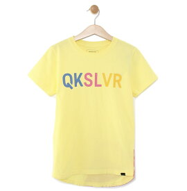 クイックシルバー QUIKSILVER  キッズ バックプリント Tシャツ DF MW TAIL ST KIDS (100-160) T-shirts 【KST191114 YEL】