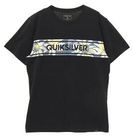 アウトレット価格 Quiksilver クイックシルバー アウトレット価格 Quiksilver クイックシルバー ロゴ Tシャツ FRONTLINE ISLAND ST Tシャツ ティーシャツ Tシャツ ティーシャツ【Mens】