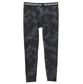 クイックシルバー QUIKSILVER  UPF50+ レギンス MAPOOL LEGGINGS ALLOVER Underwear 【QUD191305 BLK2】