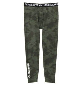 クイックシルバー QUIKSILVER  UPF50+ レギンス MAPOOL LEGGINGS ALLOVER Underwear 【QUD191305 KHA】