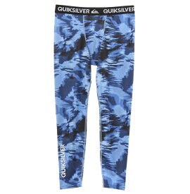 クイックシルバー QUIKSILVER  UPF50+ レギンス MAPOOL LEGGINGS ALLOVER Underwear 【QUD191305 NVY1】
