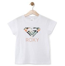 ロキシー ROXY  ロゴ Tシャツ MINI TROPICAL ABABA LOGO (100-150) T-shirts 【TST191114 WHT】