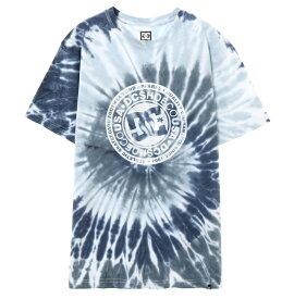 セール SALE DC ディーシー シューズ メンズ ロゴ 半袖 Tシャツ 19 TIEDYE SS Tシャツ ティーシャツ