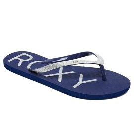 ロキシー ROXY  ビーチ サンダル VIVA GLITTER IV ビーチサンダル ビーチ サーフィン サーフ 海水浴 夏 水泳 ビーチウェア 【ARJL100678 NVY】