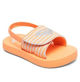 ロキシー ROXY  サンダル TW FINN (12-16CM) ビーチサンダル ビーチ サーフィン サーフ 海水浴 夏 水泳 ビーチウェア 【AROL100012 PHS】