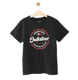 クイックシルバー QUIKSILVER  MENTAL NOTES USA ST KIDS T-shirts 【KST192102 BLK】