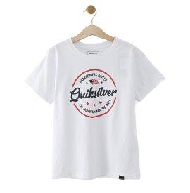 クイックシルバー QUIKSILVER  MENTAL NOTES USA ST KIDS T-shirts 【KST192102 WHT】