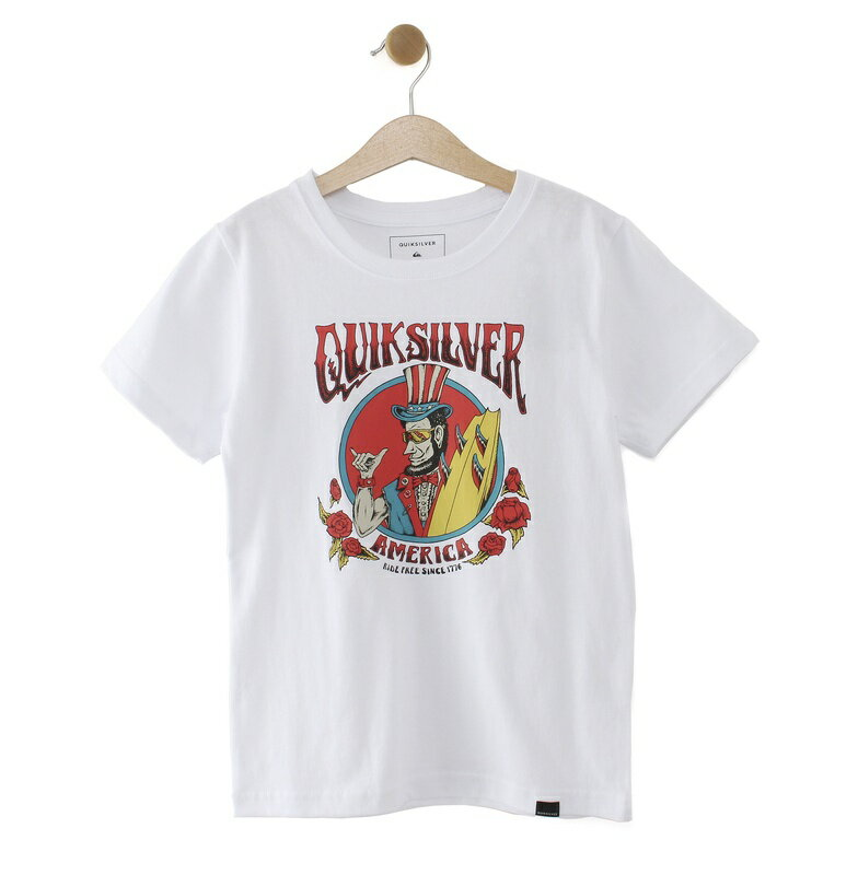 クイックシルバー QUIKSILVER  RIDE FREEROSES ST KIDS T-shirts 【KST192103 WHT】