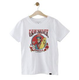 クイックシルバー QUIKSILVER  RIDE FREEROSES ST KIDS T-shirts 【KST192103 WHT】