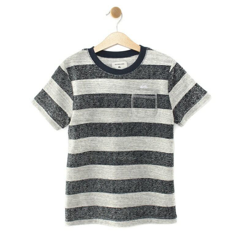 クイックシルバー QUIKSILVER  BEACH PILE ST KIDS T-shirts 【KST192104 BDR1】
