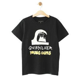 クイックシルバー QUIKSILVER  YOUNG GUNS TEE T-shirts 【KST192607T BLK】