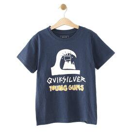 クイックシルバー QUIKSILVER  YOUNG GUNS TEE T-shirts 【KST192607T NVY】