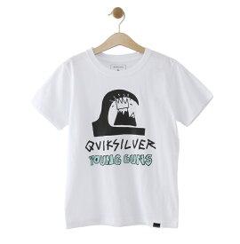 クイックシルバー QUIKSILVER  YOUNG GUNS TEE T-shirts 【KST192607T WHT】