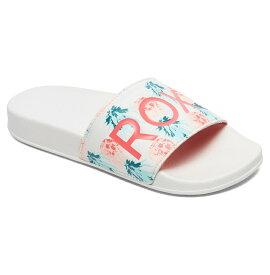 ロキシー ROXY  サンダル RG SLIPPY (18-22CM) ビーチサンダル ビーチ サーフィン サーフ 海水浴 夏 水泳 ビーチウェア 【ARGL100198 WOR】