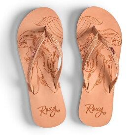 ロキシー ROXY  【Disney x ROXY】 ビーチサンダル RG NAPILI D (18~22cm) ビーチサンダル ビーチ サーフィン サーフ 海水浴 夏 水泳 ビーチウェア 【ARGL100233 BGE】
