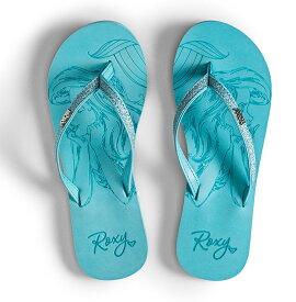 ロキシー ROXY  【Disney x ROXY】 ビーチサンダル RG NAPILI D (18~22cm) ビーチサンダル ビーチ サーフィン サーフ 海水浴 夏 水泳 ビーチウェア 【ARGL100233 LBL】