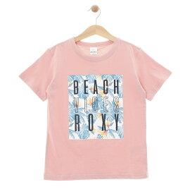 ロキシー ROXY  Tシャツ MINI BEACH VIBES (100-150) T-shirts 【TST192101 PNK】