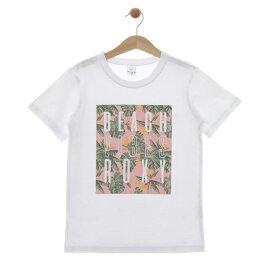 ロキシー ROXY  Tシャツ MINI BEACH VIBES (100-150) T-shirts 【TST192101 WHT】