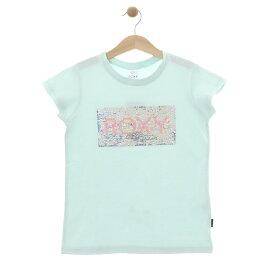 ロキシー ROXY  スパンコール Tシャツ MINI GLITTER (100-150) T-shirts 【TST192102 LBL】