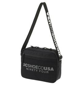 ディーシーシューズ DC SHOES  ショルダーバッグ 3.5L19 HORIZONTAL Shoulder Bag 【5430J907 BKW】