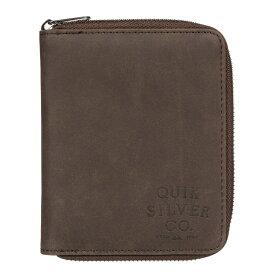 クイックシルバー QUIKSILVER  FALCOR ウォレット 財布 フルジップ パスポート対応 Wallet 【EQYAA03815 CSD0】