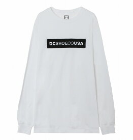 ディーシーシューズ DC SHOES  19 SAGARA LS T-shirts 【5425J926 WHT】