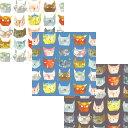 web20170602-03 ニャンコのポートレート ミニカット | 生地 パッチワーク キルト 斉藤謠子 手作り 布 布地 材料 裁縫 …