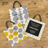 Panel Print Fabric, Geometric pattern (with Japanese instruction of 2 kinds of bag)