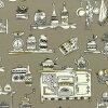 web1804-01 Beige 0.3m~ | patchwork quilt, Yoko Saito, apron