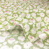 web1805-10, 0.3m~ | patchwork quilt, Yoko Saito, cotton print, flower, red, green