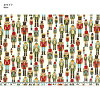 web20180702-02, Nutcracker, 0.3m~ | patchwork quilt, Yoko Saito, Christmas fabric