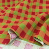 web20180702-04, Block check, 0.3m~  | patchwork quilt, Yoko Saito, Christmas fabric