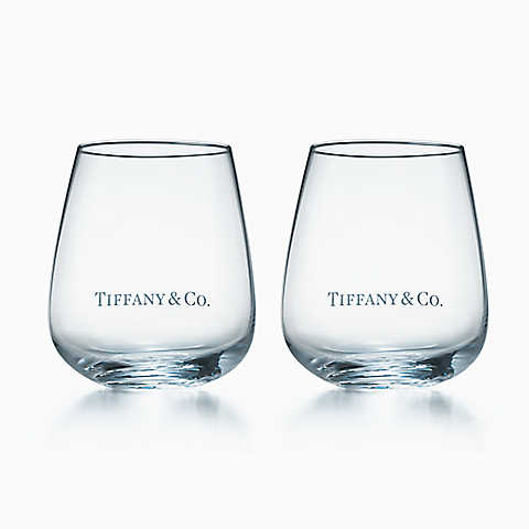 Tiffany ティファニー TIFFANY & Co. タンブラーギフトボックス入り 母の日 バースデー プレゼント 祝い ギフト クリスマス TIFFANYのショッパー リボン付き