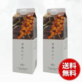 黄酸汁 豊潤サジー 1000ml 2個セット