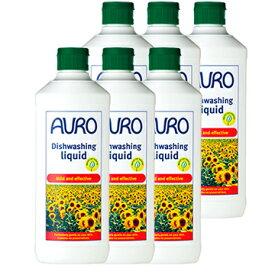 【送料無料】AURO アウロ No.453天然食器用洗剤 500ml 6本セット