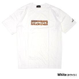 大きいサイズ メンズ tシャツ エアウォーク AIRWALK 半袖 2L 3L 4L 5L XXL XXXL XXXXL サイズ カットソー トップス ホワイト 白 ブラック 黒 大きめ おしゃれ レオパード柄 ヒョウ柄 豹柄 お洒落 夏 夏服 夏物 カジュアル 部屋着 インナー ビックT イワショー