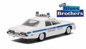 1/43 グリーンライト GREENLIGHT 1975 Dodge Monaco Chicago Police ダッジ モナコ シカゴ ポリス ブルースブラザーズ ミニカー アメ車