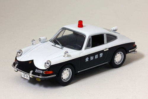 1/43 レイズ RAI'S ポルシェ 912 1968 愛知県 警察 交通 自動車隊 車両 Porsche パトロールカー ミニカー