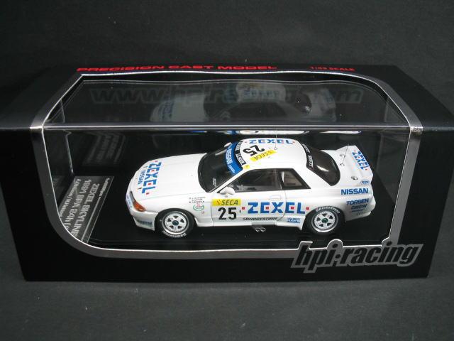 1/43 hpi・racing エイチピーアイ ZEXEL SKYLINE #25 1991 SPA 24 hours ゼクセル スカイライン ミニカー