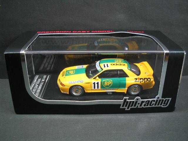 1/43 エイチピーアイ hpi・racing BP Oil Trampio GT-R #11 1993 JTC ビー ピー オイル トランピオン ミニカー