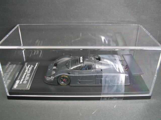1/43 エイチピーアイ hpi・racing Jaguar XJR-9 Plain Color Model Black ジャガー ミニカー