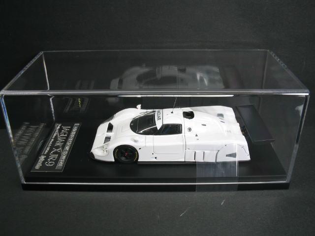 1/43 エイチピーアイ hpi・racing Jaguar XJR-9 Piain Color Model White ジャガー ミニカー