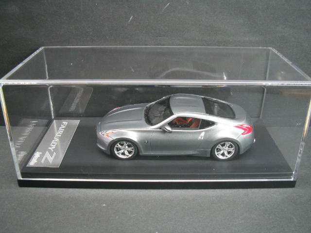1/43 エイチピーアイ hpi・racing Nissan Fairlady Z Blade Silver ニッサン フェアレディミニカー