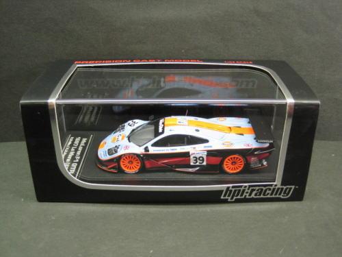 1/43 エイチピーアイ hpi・racing McLaren F1 GTR #39 1997 Le Mans マクラーレン ルマン ミニカー